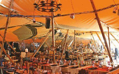 firmenevent im tipi